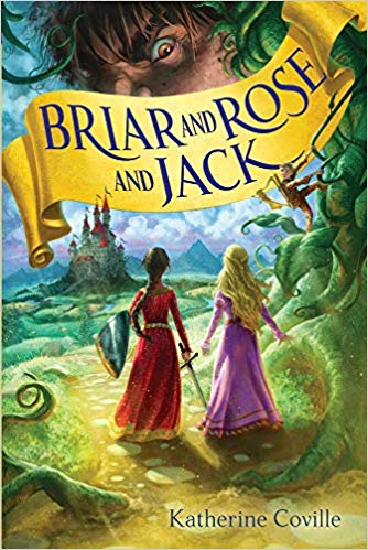 Book cover image for Briar and Rose and Jack by Katherine Colville.