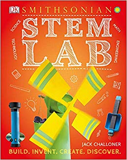 Book cover image of Smithsonian STEM Lab by Jack Challoner