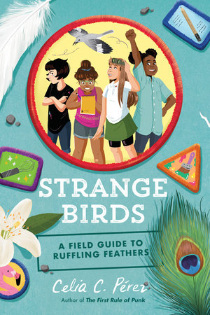 Book cover for Strange Birds by Celia C. Perez