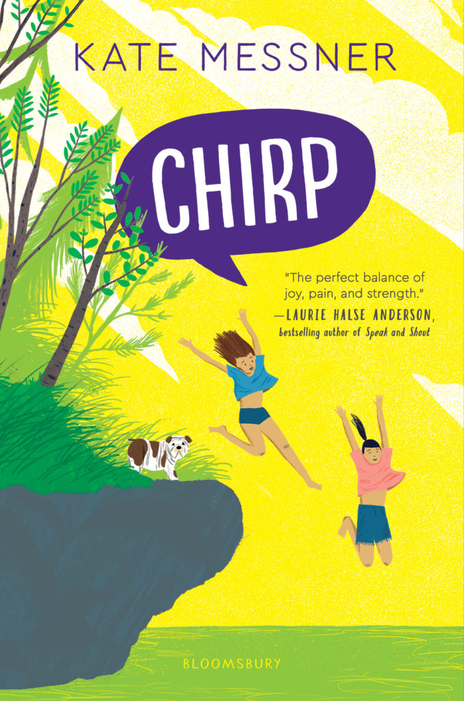 Book cover image for Chirp by Kate Messner