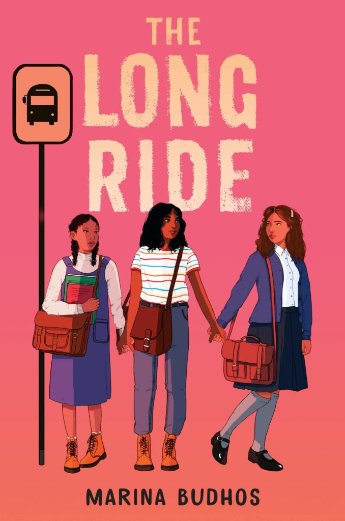 Book cover image for The Long Ride by Marina Budhos