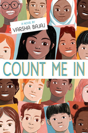 Book cover image for Count Me In by Varsha Bajaj