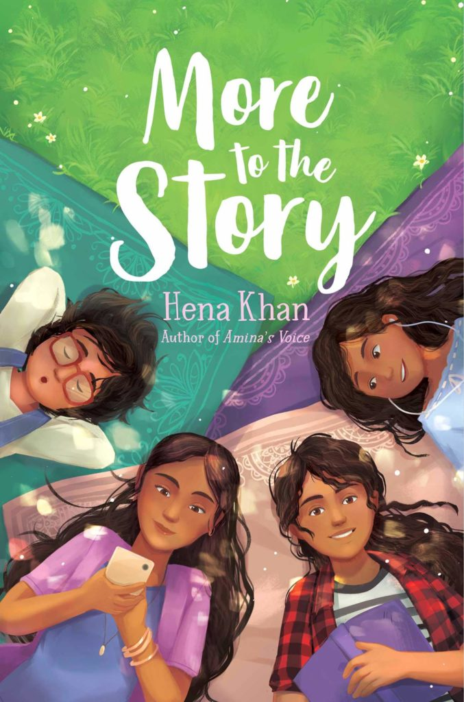 Book cover image for More to the Story by Hena Khan